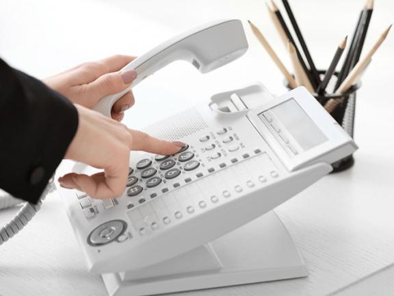 留守電音声を時間で分けられる!白い電話