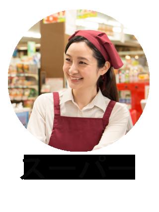 スーパー店員のフキダシ