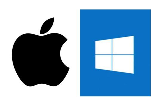 MacとWindowsのマーク