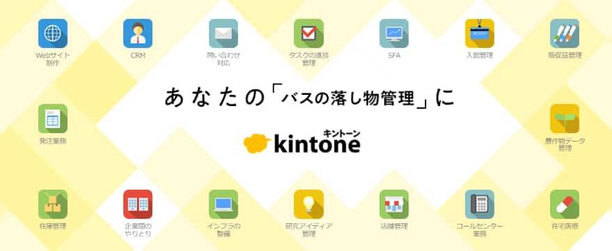 kintoneトップ画像